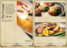 C L A Vv. French Cuisine Plat Principal