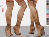 C&S Never Ending Overknee Boots 10 Colors HUD (Classic, Slink High, Maitreya Lara and #TMP Ouch)