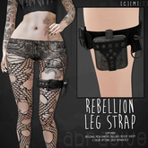 [ abrasive ] Rebellion Leg Strap - Used