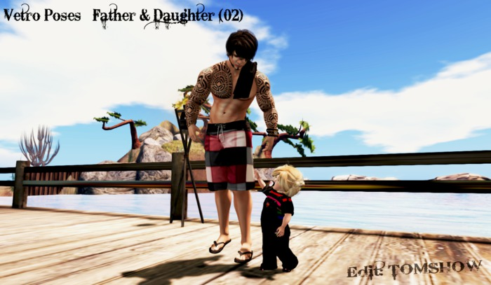 ++ Vetro Poses - Father & Daughter (02) ++