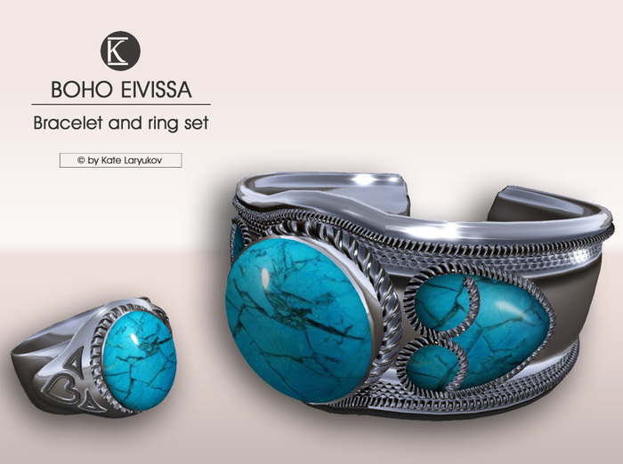 [*K*] Boho Eivissa Bracelet and Ring set