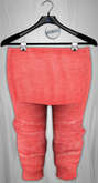 Admirable. Layered Joggers. Spring (Coral)
