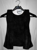 Admirable. Velvet Vest (Black)
