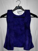 Admirable. Velvet Vest (Blue)