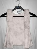 Admirable. Velvet Vest (White)
