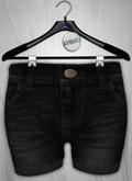 Admirable. Denim Shorts (Black)
