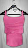 Admirable. Tailed Tank. Colors (Pink)