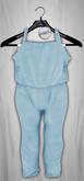 Admirable. Cotton Jumpsuit (Aquamarine)