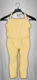 Admirable. Cotton Jumpsuit (Custard)