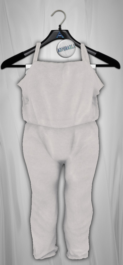 Admirable. Cotton Jumpsuit (GlacierGrey)