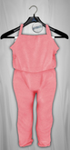 Admirable. Cotton Jumpsuit (StrawberryIce)