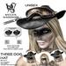 Wicca's wardrobe   three dog hat %28black%29 vendor