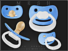T-3D Creations [ Pacifier 02 ] Micro MESH - Full Perm -