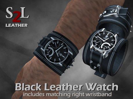 Second Life Marketplace S2l Watch Black
