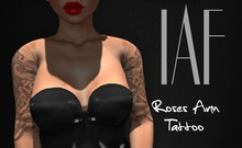 IAF Roses Arm Tattoo (With Appliers)
