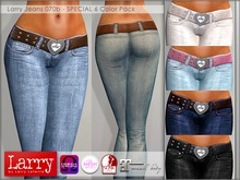 LARRY JEANS - Jeans 070b - 6 Color Pack