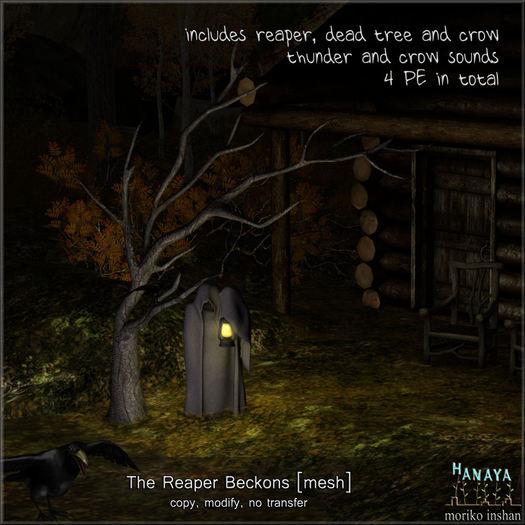 -Hanaya- The Reaper Beckons [mesh]