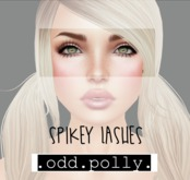 .odd.polly. Spiky Lashes