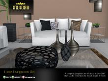 Invidah* Luxor Livingroom Set (Naturals) COPY VERSION