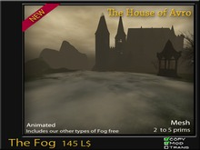 The Fog - Mesh - The Best 3D Effect - Halloween - Gothic