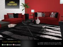 Invidah* Luxor Livingroom Set (Reds) COPY VERSION