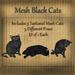 Bad Katz Mesh Black Cats