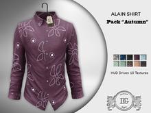 Daniel Grant-Alain Shirt PACK AUTUMN PATTERNS