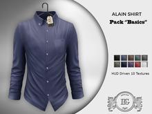 Daniel Grant-Alain Shirt PACK BASICS