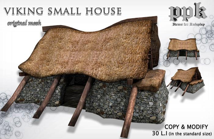 PPK Viking Small House Mesh