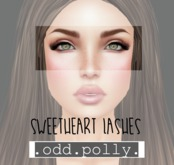 .odd.polly. Sweetheart Lashes