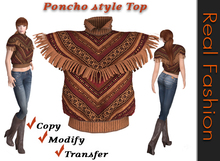 REAL FASHION Poncho style top - Full permissions