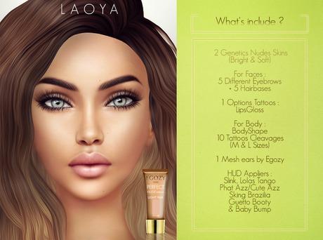 Egozy.Laoya Genetic (Light Fair).Nude