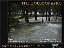 Halloween - Animated Ground Fog - Mesh - 3D Effect -  Gothic mist