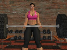 Mesh Olympic Barbell