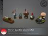 [DD] - FULL PERM  Garden Gnome Kit