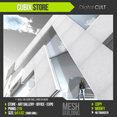 DCL CUBIX Store - shop, art gallery, expo