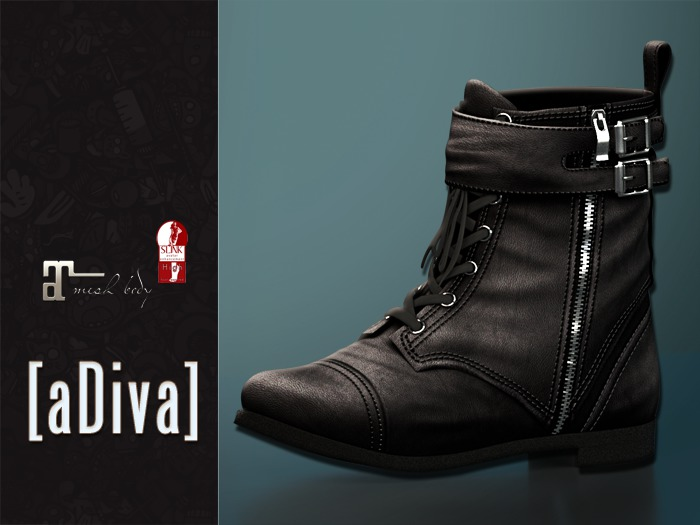 aDiva Lisbeth Boot Maitreya Lara / Slink Flat Feet Addon