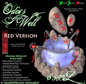 -Odin's Well- (RED) by Khyle Sion at ~Refined Wild~