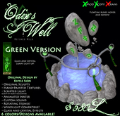 -Odin's Well- (GREEN) by Khyle Sion at ~Refined Wild~
