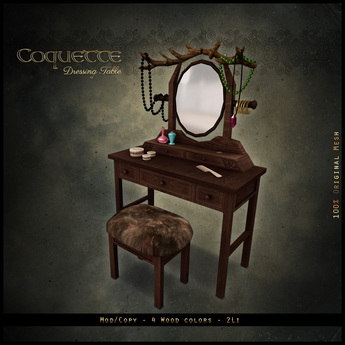 . aisling . Coquette Dressing Table (Medieval)