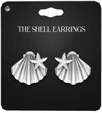 Amala - The Shell Earrings - Silver