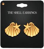 Amala - The Shell Earrings - Gold