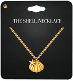 Amala - The Shell Necklace - Gold