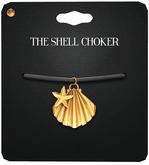Amala - The Shell Choker - Gold