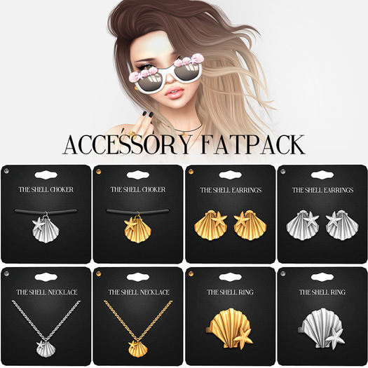 Amala - The Shell Accessories - Fatpack