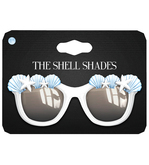 Amala - The Shell Shades - White - Blue Shells