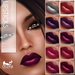 Oceane - Fat Pack Glammy Lipsticks Pink Purple (10x)