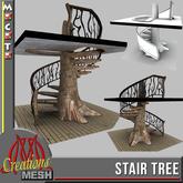 STAIR TREE FULL PERM MESH