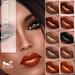 Oceane - Glammy Lipsticks Gold, Orange, Black  Fat Pack (10x)