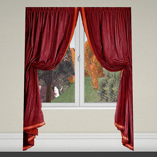 Curtain 1 red